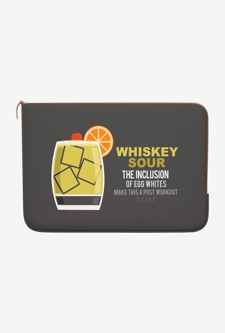 DailyObjects Whisky Sour MacBook Air 13 Zippered Sleeve