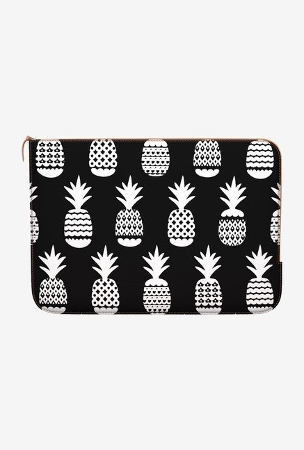 DailyObjects White Pineapple MacBook Air 11 Zippered Sleeve