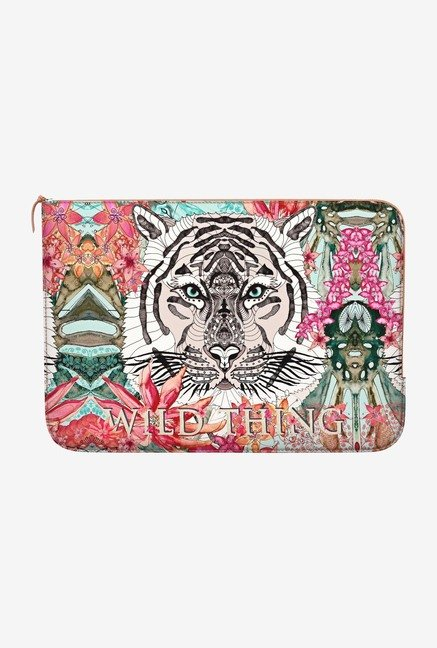 DailyObjects Wild Thing MacBook Air 13 Zippered Sleeve