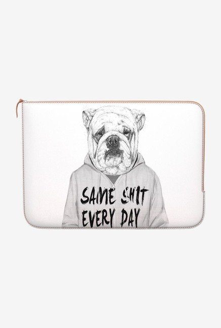 DailyObjects Shit Every Day MacBook 12 Zippered Sleeve