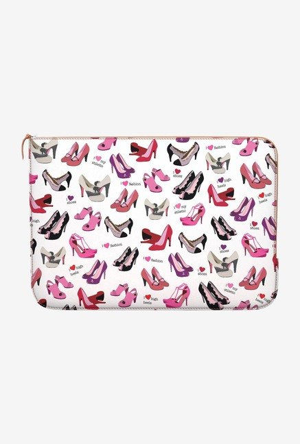 DailyObjects Shoes MacBook Air 11 Zippered Sleeve