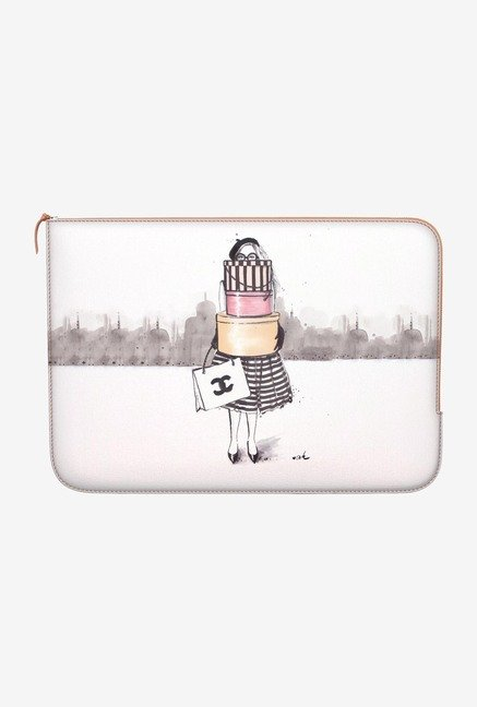 DailyObjects Shopping Junkie MacBook 12 Zippered Sleeve