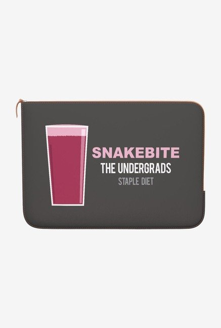 DailyObjects Snakebite MacBook Pro 13 Zippered Sleeve