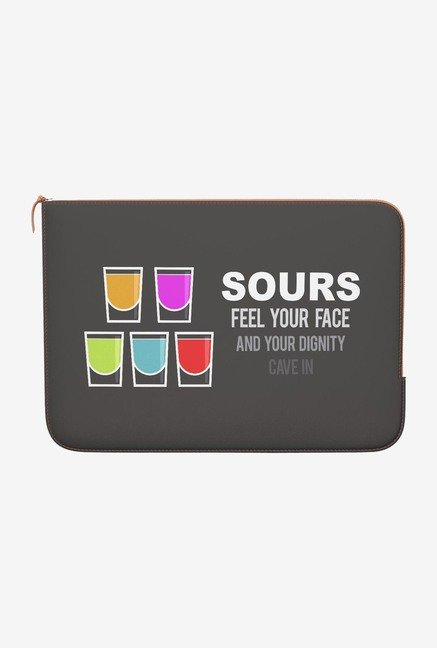 DailyObjects Sours MacBook 12 Zippered Sleeve