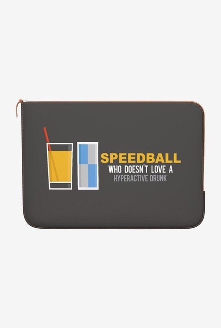 DailyObjects Speedball MacBook 12 Zippered Sleeve