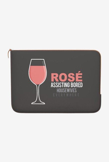 DailyObjects Rose MacBook 12 Zippered Sleeve