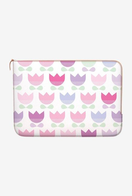 DailyObjects Spring Tulips MacBook 12 Zippered Sleeve