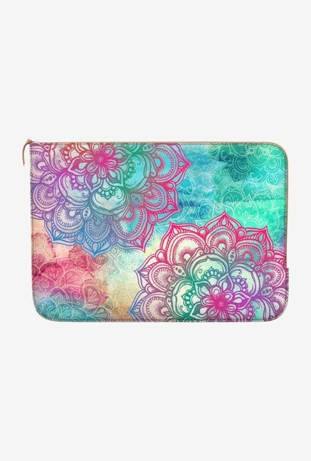DailyObjects Round And Round MacBook Air 11 Zippered Sleeve