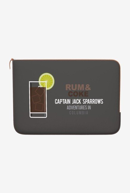 DailyObjects Rum And Coke MacBook Pro 15 Zippered Sleeve
