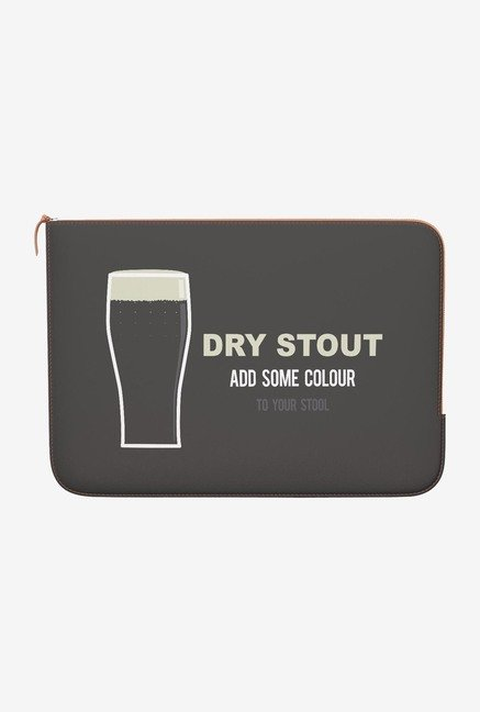 DailyObjects Stout MacBook Air 13 Zippered Sleeve