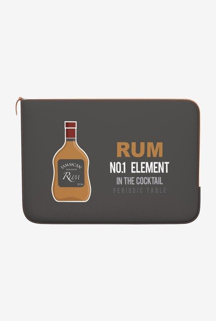 DailyObjects Rum MacBook Pro 15 Zippered Sleeve