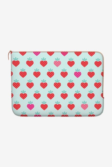 DailyObjects Strawberry MacBook Pro 13 Zippered Sleeve