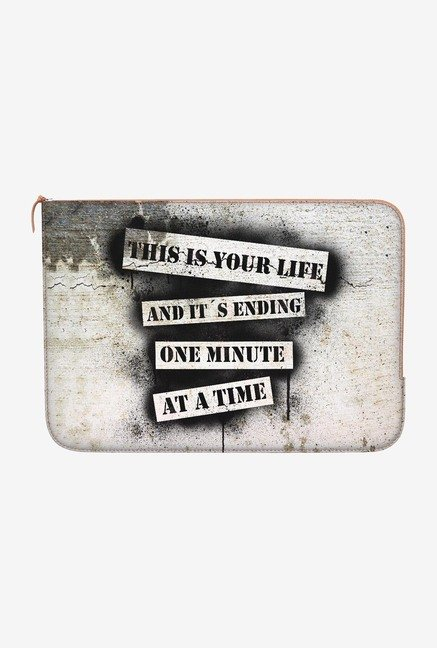 DailyObjects Your Life MacBook Pro 15 Zippered Sleeve