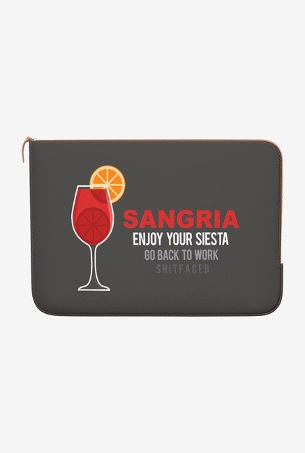 DailyObjects Sangria MacBook Air 13 Zippered Sleeve