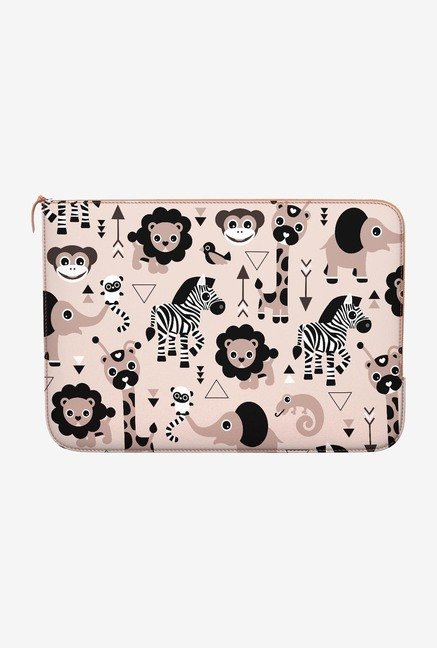 DailyObjects Zoo MacBook Pro 15 Zippered Sleeve