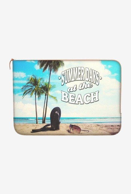 DailyObjects Summer Days MacBook Pro 13 Zippered Sleeve