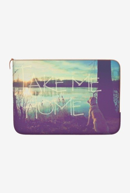 DailyObjects Take Me Home MacBook Air 13 Zippered Sleeve