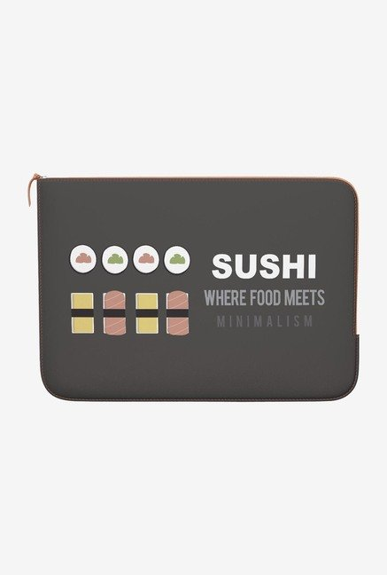 DailyObjects Sushi MacBook 12 Zippered Sleeve