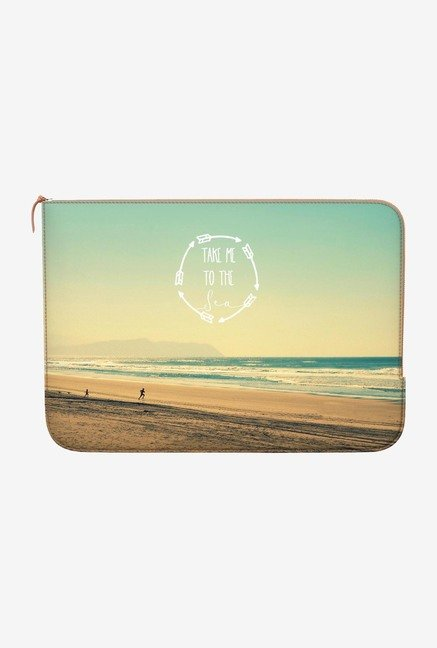 DailyObjects Take Me To Sea MacBook Pro 13 Zippered Sleeve