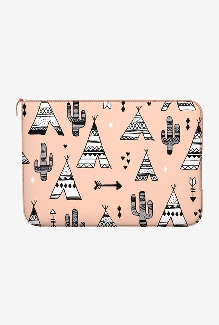 DailyObjects Teepee & Cactus MacBook Pro 15 Zippered Sleeve
