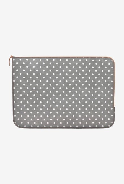 DailyObjects Swiss Dots MacBook Pro 15 Zippered Sleeve