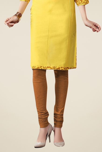 Triveni Yellow Printed Kurta