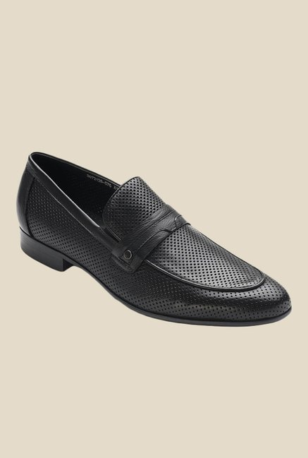 Tresmode Broomed Black Casual Shoes