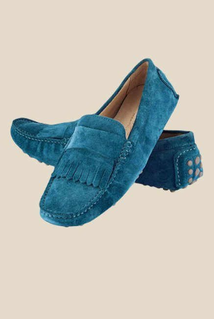Tresmode Sfrill Blue Loafers