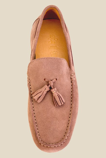 Tresmode Chicago Beige Boat Shoes