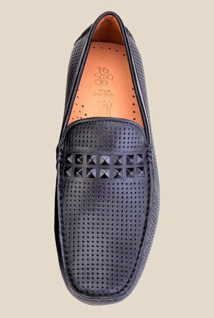 Tresmode Verona Black Loafers