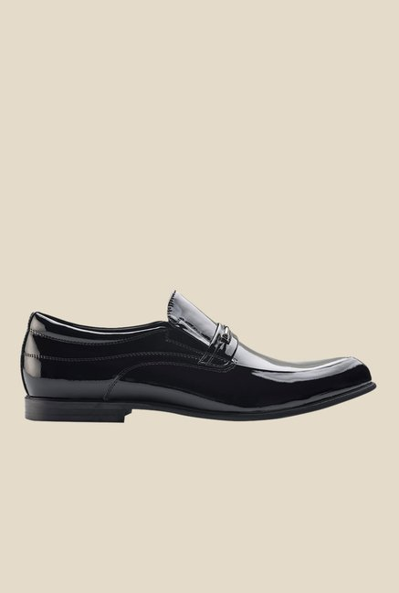 Tresmode Bebuckent Black Casual Shoes