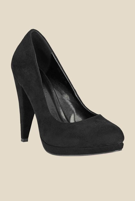 Tresmode Carump Black Pumps