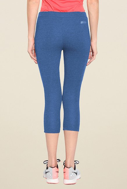 Sweet Dreams Blue Solid Capris