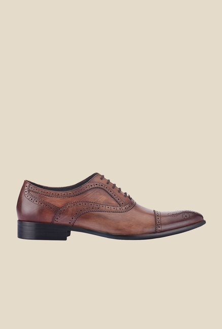 Tresmode Bogano Brown Brogue Shoes