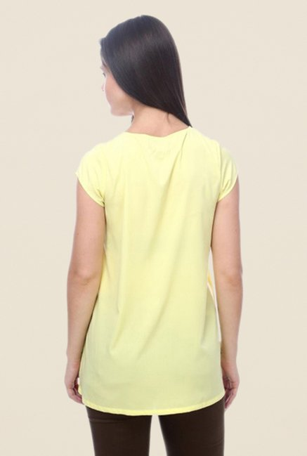 Kaaryah Lemon Solid Top