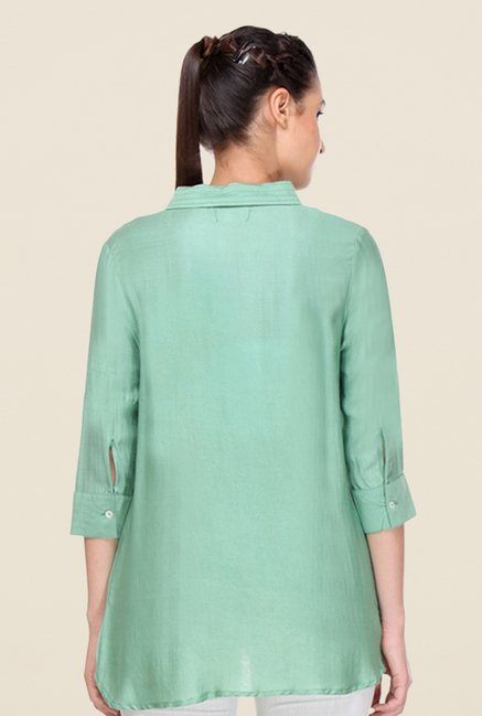 Kaaryah Green Solid Top