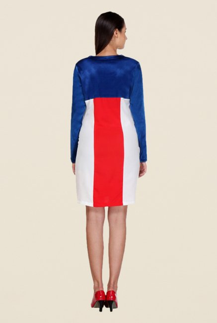 Kaaryah Multicolor Solid Full Sleeves Dress
