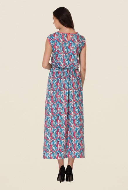 Kaaryah Multicolor Printed Relaxed Fit Dress