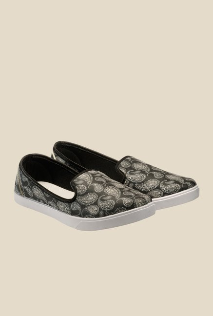 Juan David Black Casual Plimsolls
