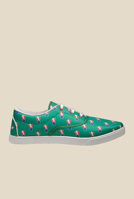 Juan David Green & Red Plimsolls