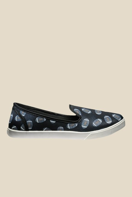 Juan David Black & Blue Plimsolls