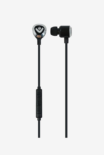 Envent Beatz In The Ear Earphone with Mic (Black)