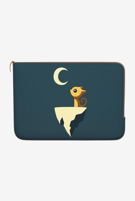 "DailyObjects Moon Cat Macbook Air 11"" Zippered Sleeve"