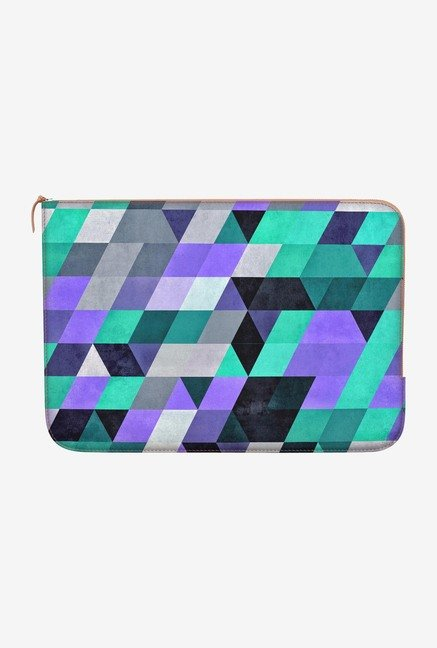 "DailyObjects Mynty Zyre Macbook Pro 15"" Zippered Sleeve"