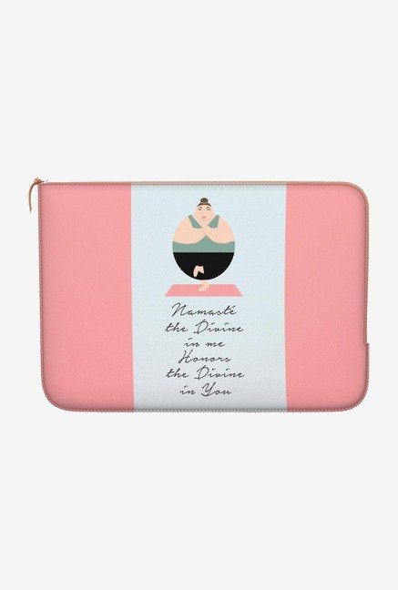 "DailyObjects Namaste Macbook 12"" Zippered Sleeve"