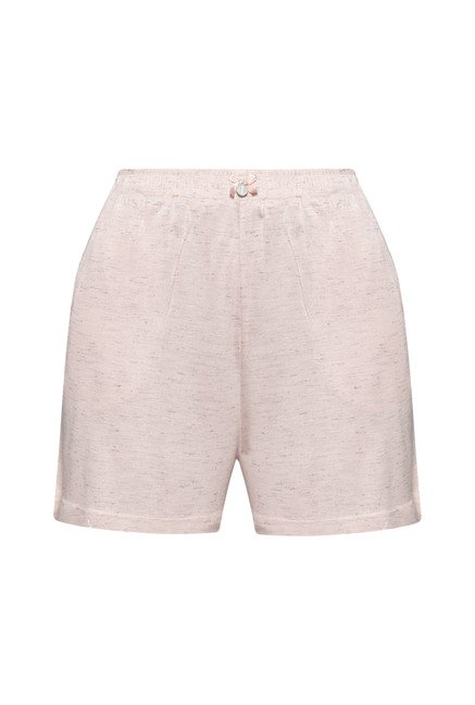 Intima by Westside Pink Textured Shorts