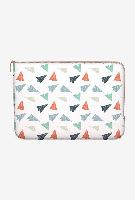 "DailyObjects Paper Planes Macbook Pro 15"" Zippered Sleeve"