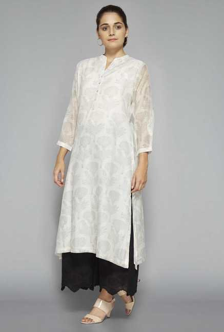 Zuba by Westside Black Embroidered Palazzo