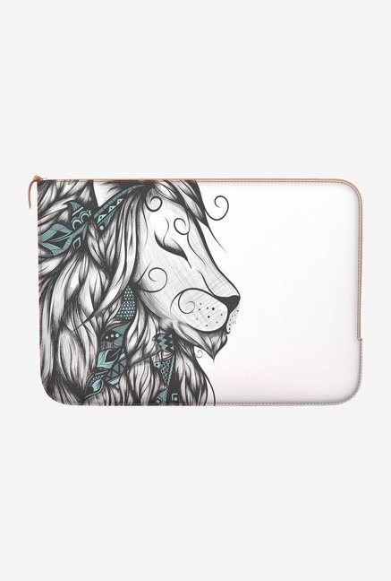 "DailyObjects Poetic Lion Macbook 12"" Zippered Sleeve"