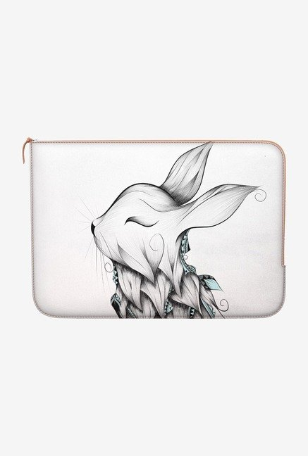 "DailyObjects Poetic Rabbit Macbook Air 13"" Zippered Sleeve"